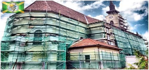 Cégünk keretes állványok szakszerű építésével, bérbeadásával és ezen építőipari állványok szállításával foglalkozik.
