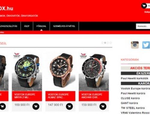 Órabox webáruház